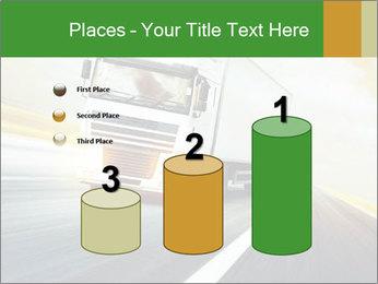 White truck PowerPoint Template - Slide 65