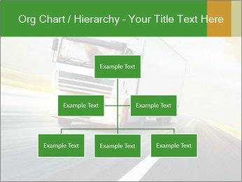 White truck PowerPoint Template - Slide 66