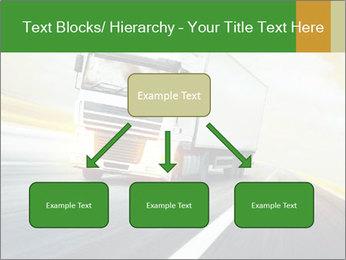 White truck PowerPoint Template - Slide 69