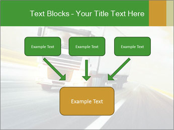 White truck PowerPoint Template - Slide 70