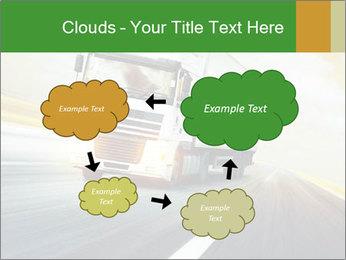 White truck PowerPoint Template - Slide 72