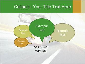 White truck PowerPoint Template - Slide 73