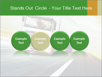 White truck PowerPoint Template - Slide 76