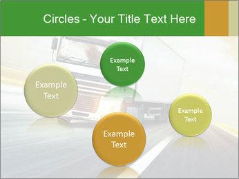 White truck PowerPoint Template - Slide 77