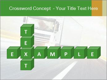 White truck PowerPoint Template - Slide 82