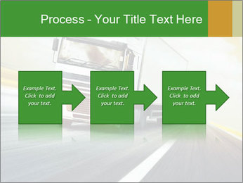 White truck PowerPoint Template - Slide 88