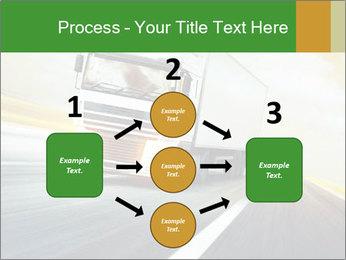 White truck PowerPoint Template - Slide 92