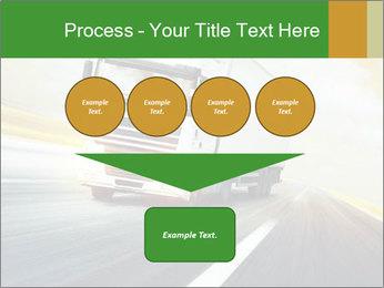 White truck PowerPoint Template - Slide 93