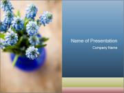 Fresh Flowers PowerPoint Templates