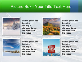 European Alps PowerPoint Template - Slide 14