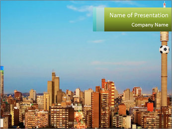 South Africa PowerPoint Template - Slide 1