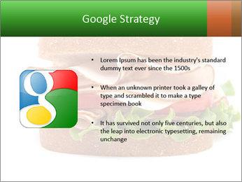 Breast sandwich PowerPoint Template - Slide 10