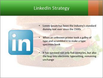 Breast sandwich PowerPoint Template - Slide 12