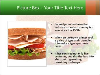 Breast sandwich PowerPoint Template - Slide 13