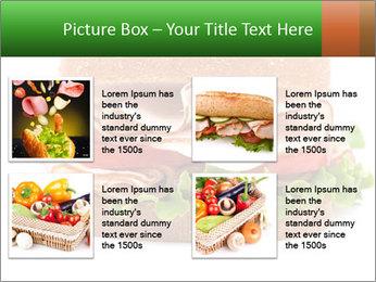 Breast sandwich PowerPoint Template - Slide 14