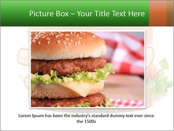 Breast sandwich PowerPoint Template - Slide 15