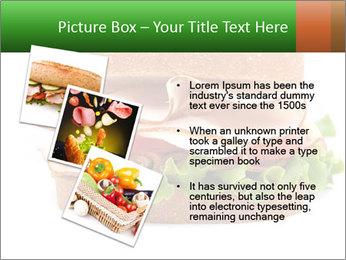 Breast sandwich PowerPoint Template - Slide 17