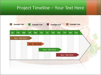 Breast sandwich PowerPoint Template - Slide 25