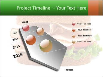 Breast sandwich PowerPoint Template - Slide 26