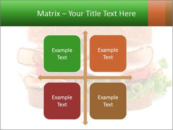 Breast sandwich PowerPoint Template - Slide 37