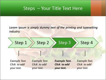 Breast sandwich PowerPoint Template - Slide 4