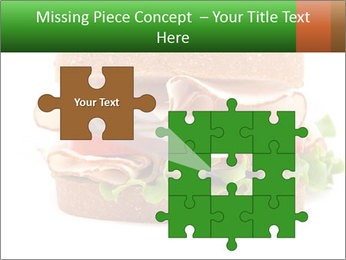 Breast sandwich PowerPoint Template - Slide 45
