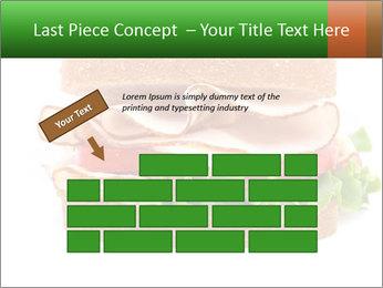 Breast sandwich PowerPoint Template - Slide 46