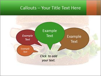 Breast sandwich PowerPoint Template - Slide 73