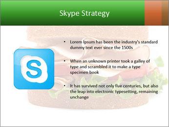 Breast sandwich PowerPoint Template - Slide 8