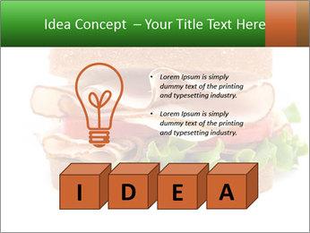 Breast sandwich PowerPoint Template - Slide 80