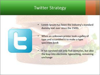 Breast sandwich PowerPoint Template - Slide 9