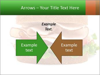 Breast sandwich PowerPoint Template - Slide 90