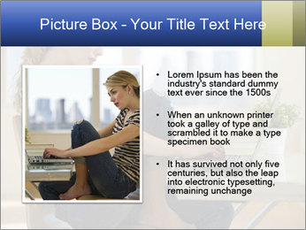 Female working PowerPoint Template - Slide 13
