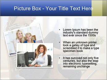 Female working PowerPoint Template - Slide 20