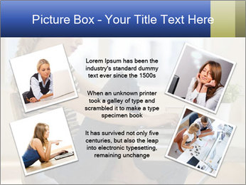 Female working PowerPoint Template - Slide 24