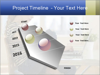 Female working PowerPoint Template - Slide 26