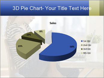 Female working PowerPoint Template - Slide 35