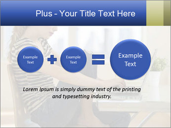 Female working PowerPoint Template - Slide 75
