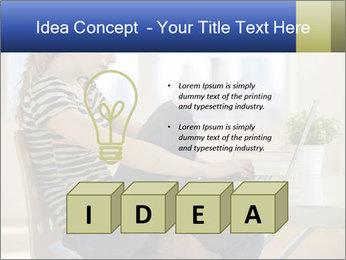 Female working PowerPoint Template - Slide 80