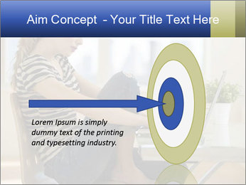 Female working PowerPoint Template - Slide 83