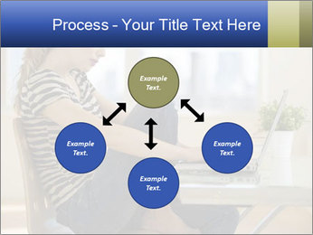 Female working PowerPoint Template - Slide 91
