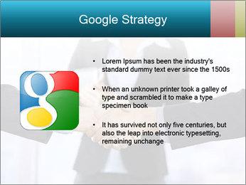 Businessmen shaking hands PowerPoint Template - Slide 10