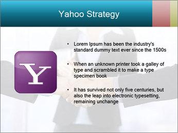 Businessmen shaking hands PowerPoint Template - Slide 11
