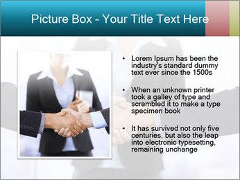 Businessmen shaking hands PowerPoint Template - Slide 13