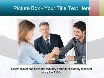 Businessmen shaking hands PowerPoint Template - Slide 15