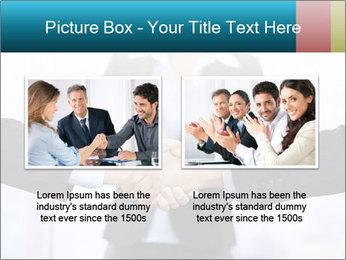 Businessmen shaking hands PowerPoint Template - Slide 18