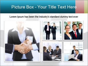 Businessmen shaking hands PowerPoint Template - Slide 19