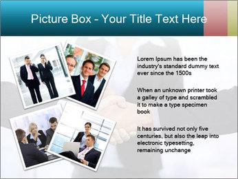 Businessmen shaking hands PowerPoint Template - Slide 23