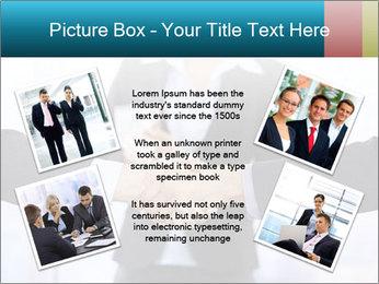 Businessmen shaking hands PowerPoint Template - Slide 24