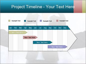 Businessmen shaking hands PowerPoint Template - Slide 25